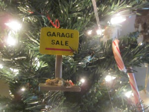 Garage Sale Christmas Tree ornament